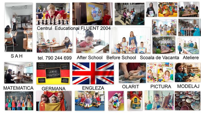 Inscriere grupe 3-6 ani / Before-After School /Scoala Vacanta/Ateliere