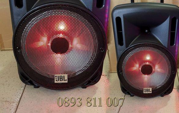 Промо! 1000в -JBL 10ка нова !Караоке тонколона с Bluetooth и 2микрофон