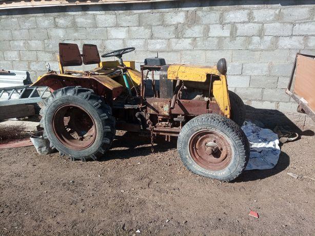 Самаделный мини трактор