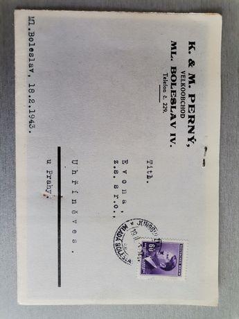 Bonuri, Telegrame ocupatie Nazistă