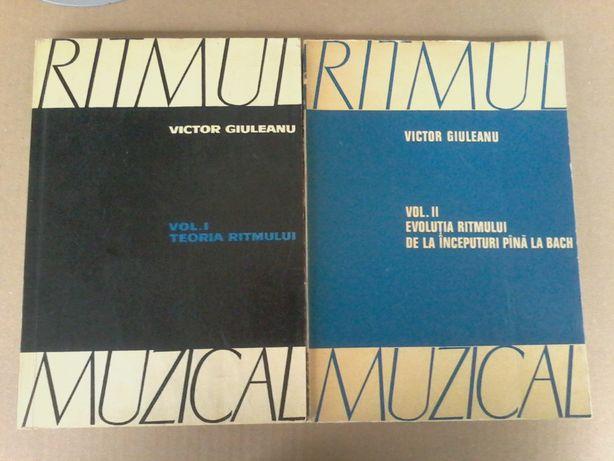 Victor Giuleanu - Ritmul muzical (2 vol.)
