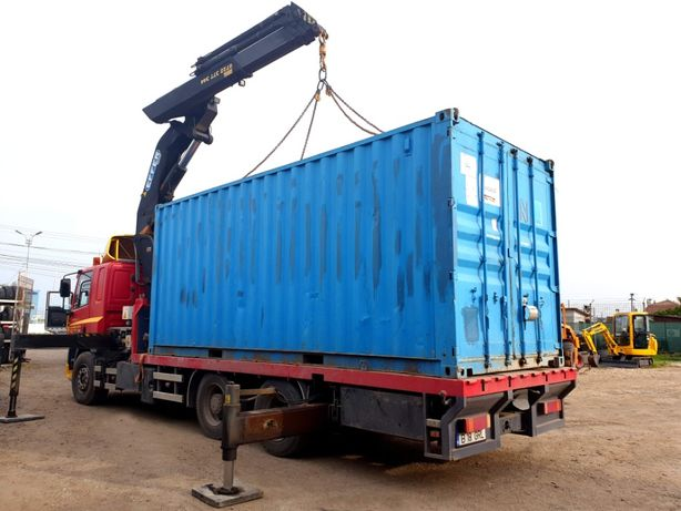 Transport container birou maritim utilaje echipament macara automacara
