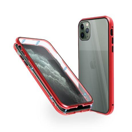 Алуминиев 360° Калъф с за iPhone 12/Mini/Pro/Max/11/SE/XS/XR/7/8/Plus