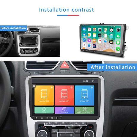 Volkswagen, skoda ,Seat  Noua Navigatie Android 9 dedicata.model  4066
