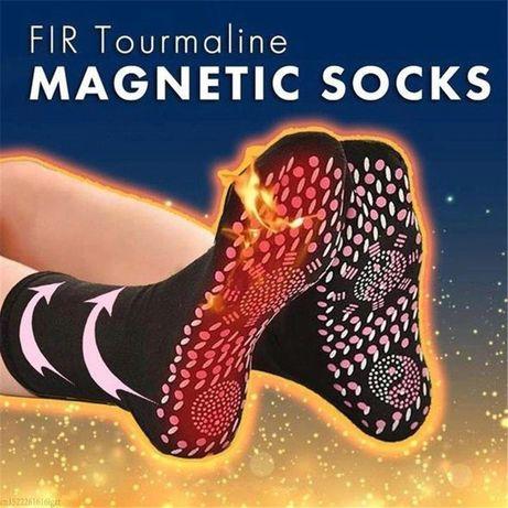 Магнитни чорапи с турмалин самозагряващи, удобни за масаж