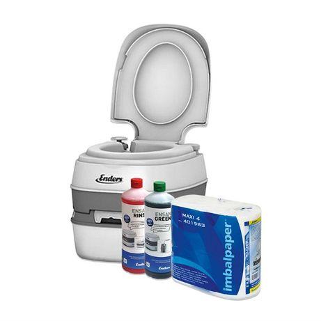 Къмпинг пакет химическа тоалетна и препарати GREEN COMFORT