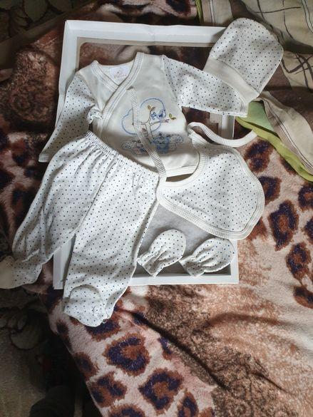 Бебешки коплект 0-3 месеца