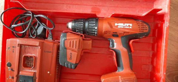 Много запазен ударен винтоверт Hilti SFH144-A с 2х2,6ач.li-ion батерии