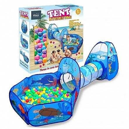Палатка для игры с сухим бассейном