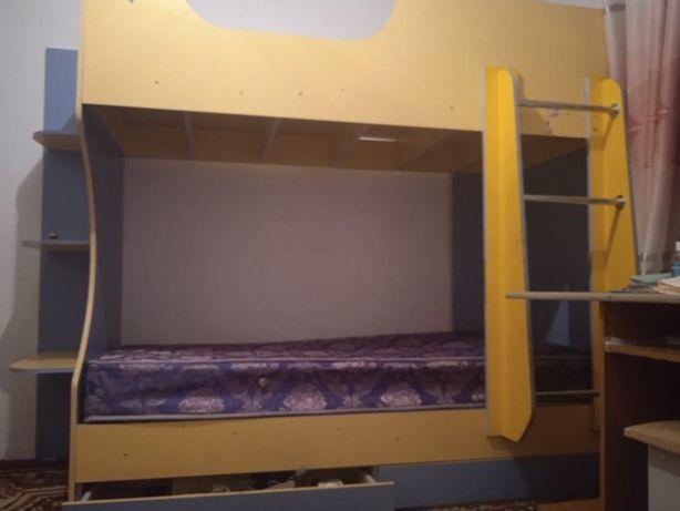 Кровать детская 2 этажная балалар краваты сатылады