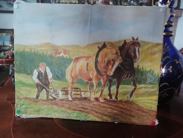 Vând tablou țăran român