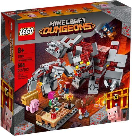 LEGO 21163 Minecraft Битва за красную пыль новый оригинал !