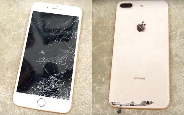Schimb, inlocuire sticla geam iPhone 8 8 plus 7 7 + 11 pro 6 x xs max