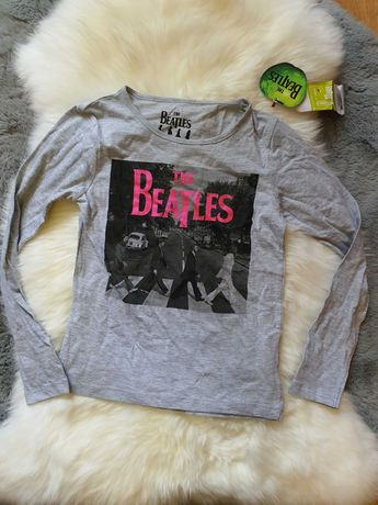 Bluza cu maneca lunga cu The Beatles