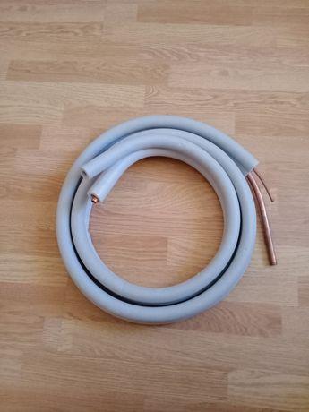 Инсталляция медная трубка на кондиционер 6 и 12 мм