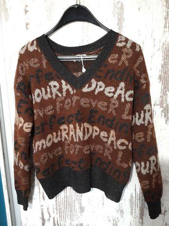 Дамски пуловер в актуални цветове
