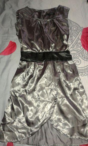 Дамска сатенена рокля рр S - М