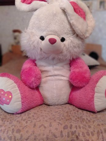 Мягкая игрушка большой заяц