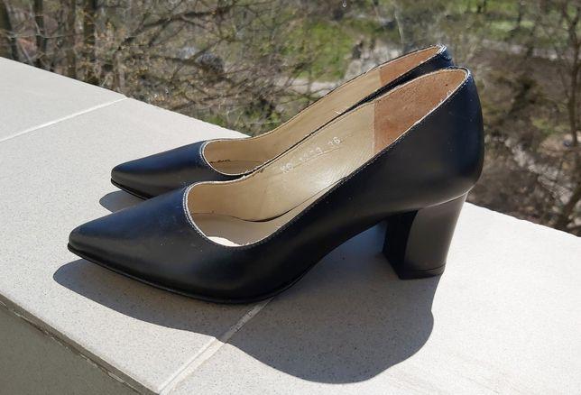 Pantofi din piele Marelbo marime 36
