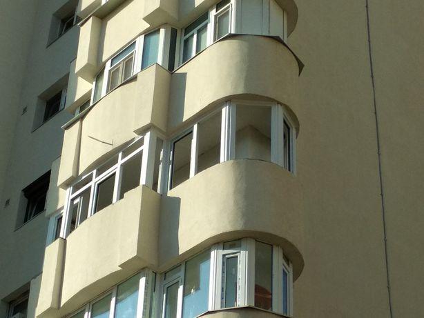 Tâmplărie pvc cu geam termopan /tripan. Închidere balcoane /terase