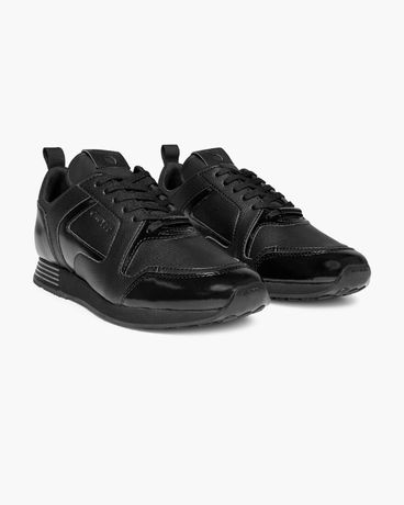 Cruyff Lusso Black Real Leather!!! 42,44, 46 !!!