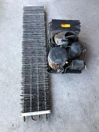 Хладилен агрегат – компресор, бонус изпарител.