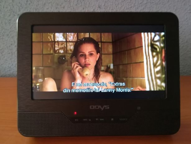 DVD Player Portabil Odys Seal 7 cu ecran pivotant , Ecran 7 inch