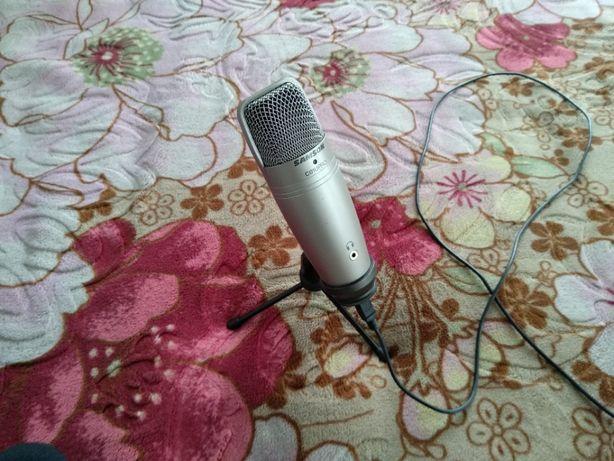 Студийный конденсаторный микрофон Samson C01U Pro через USB