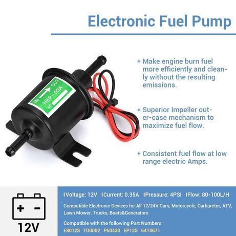 Външна бензинова помпа за карбуратор горивна помпа бензинова помпа