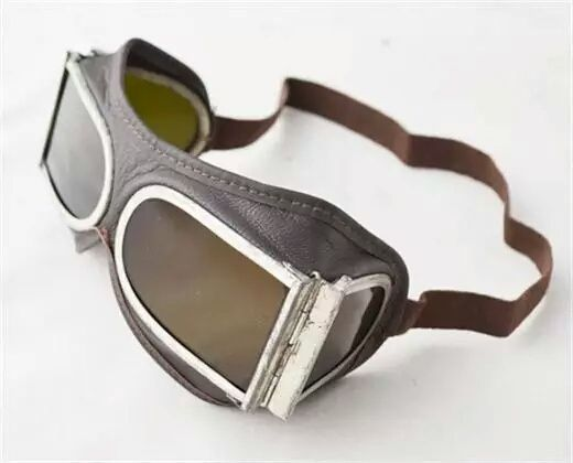 Ретро колекция мото кабрио очила / пилот кафе рейсър вермахт