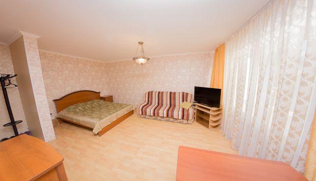 Квартира Студия Посуточно в Центре города. Р-н: Гостиница Кызылжар.