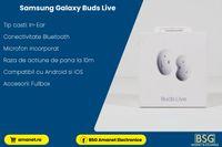 Casti Bt. Samsung Galaxy Buds Live - BSG Amanet & Exchange