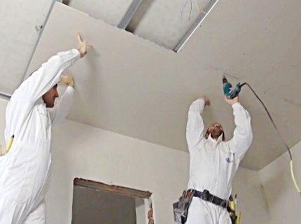 Гипсокартон, окачени тавани, скрито осветление, шпакловка,боя,ел.инст.