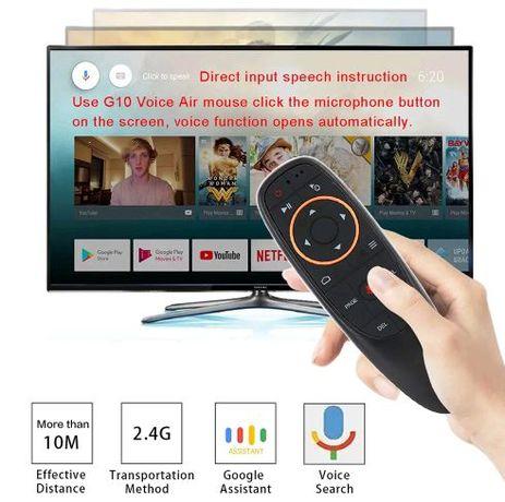 Безжично дистанционно G10s Жироскопично, Air Mouse Въздушна мишка WiFi