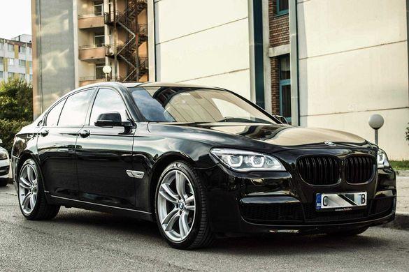 BMW 740XD M-Sport Shadow Line facelift