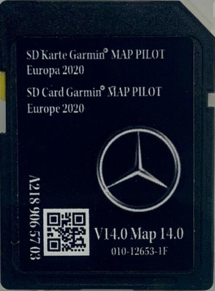 Ново Mercedes Garmin Map Pilot Star1 v14 2020г SD Card Европа Оригинал гр. София - image 1
