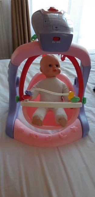 Balansoar muzical bebelusi/papusi