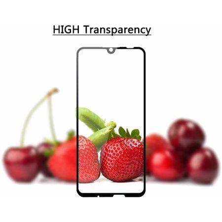 Folie de sticla FULL GLUE pentru Huawei P Smart 2019, GloMax 5D Negru
