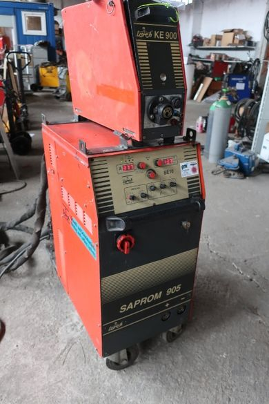 Заваръчен апарат, МИГ/МАГ, Телоподаващо, Lorch Saprom 905