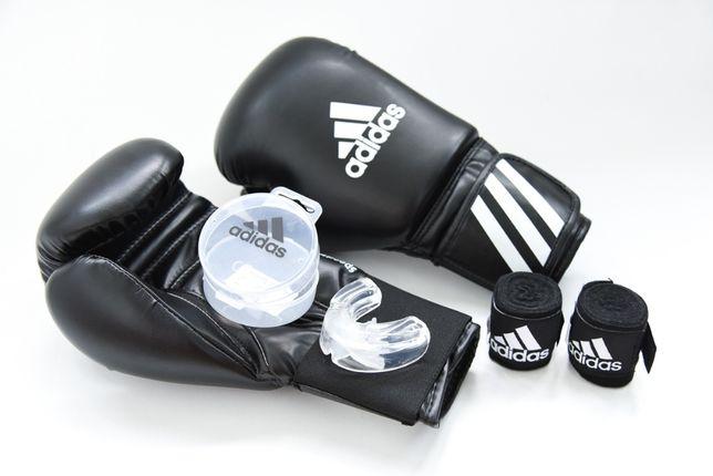Manusi Box Adidas cu Fase si Proteza - Noi si Originale - 8/10/12/14OZ
