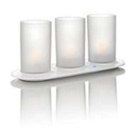 Philips Candle Lights Naturelle 3 set
