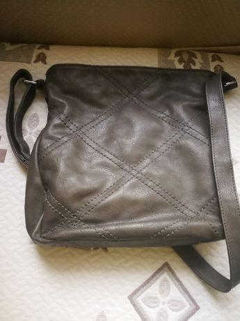 Дамска чанта, сива