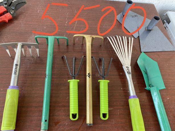 Инструменты гребли веер лопатка сад огород дача