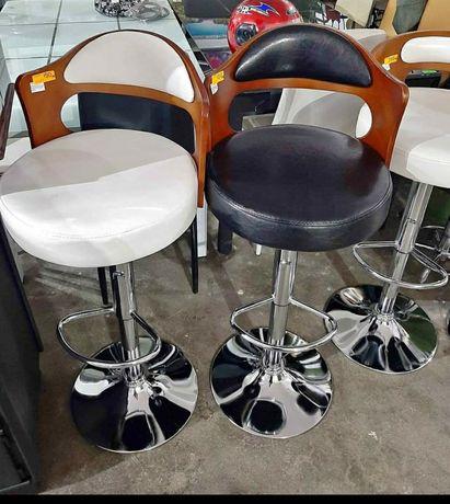 Стол за бар Калипсо,от кожа,регулеруема височина .Промоция.