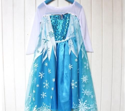 Rochie Elsa Rochita printesa Frozen 3, 4, 5, 6, 7 ani
