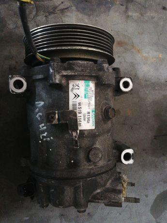 Compresor ac clima Citroen Peugeot 1.6 hdi
