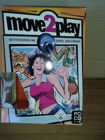 "joc "" move2play "" PC CD ROM + Webcam "" Terratec"""