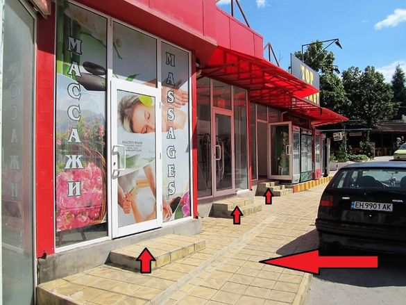 3 магазина+102м2 прилежащ парцел+оборудване в Кранево до плажа