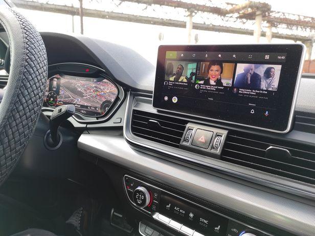Card youtube  Android Auto Carplay Audi A3 A4 A6 A7 A8 Q2 Q3 Q5 Q7