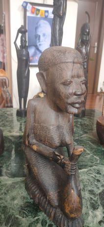 Statuie arta africana din abanos